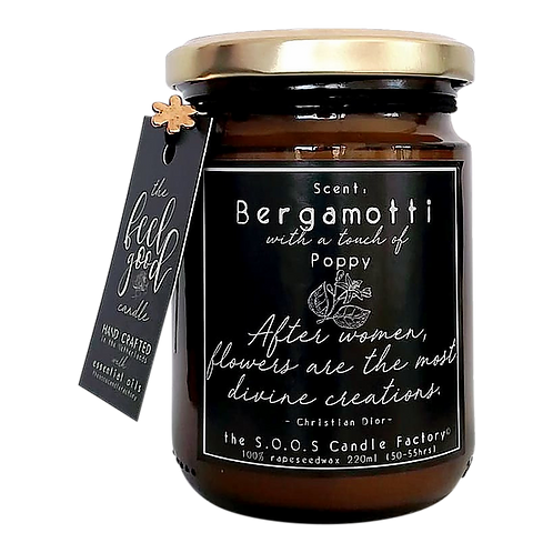 Feel Good Candle  Bergamotti 220ml