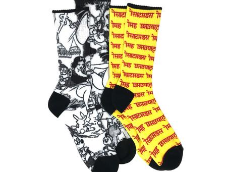 CATANA Socks #00 & #01受注予約開始