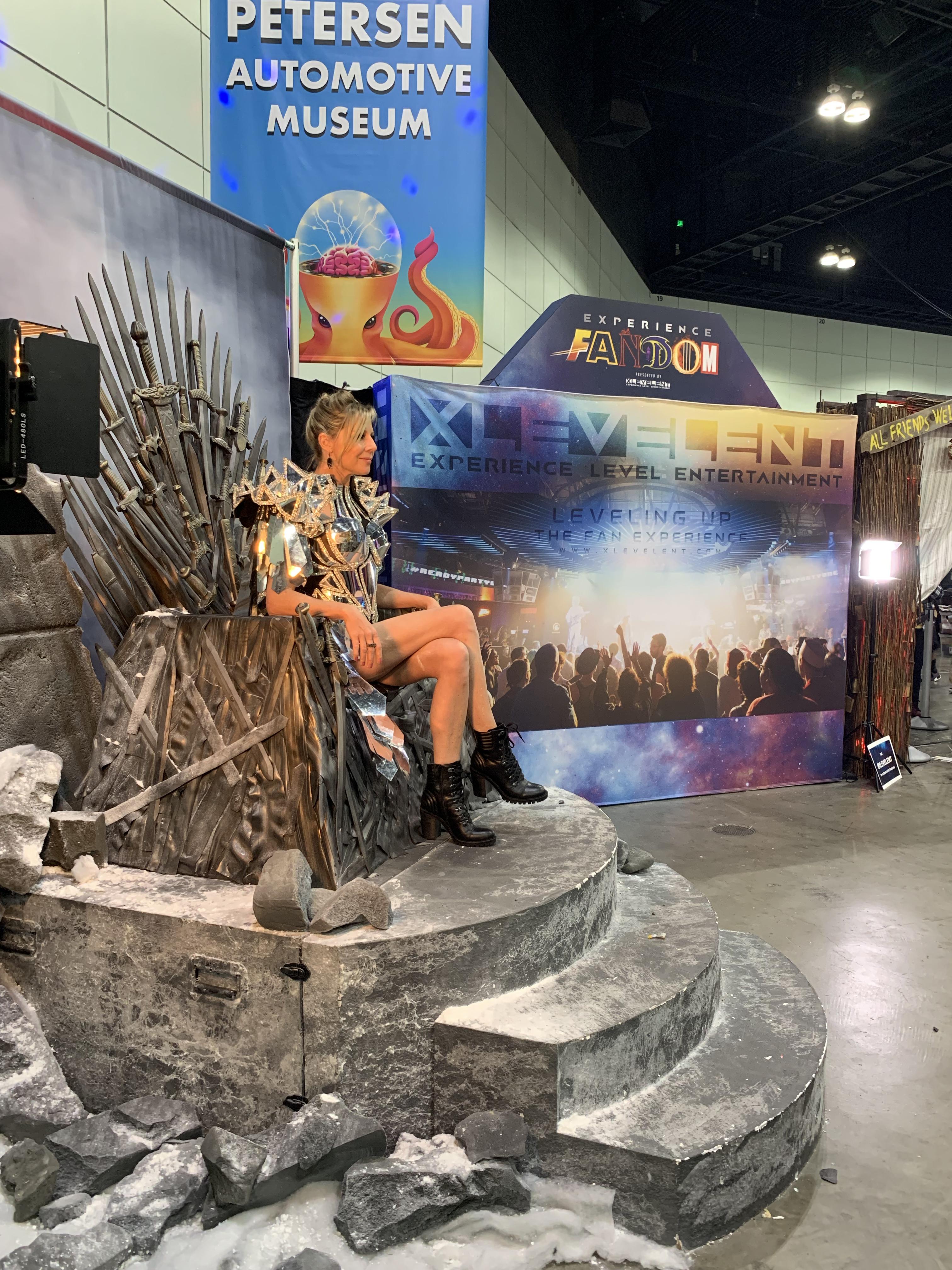 gigi on throne