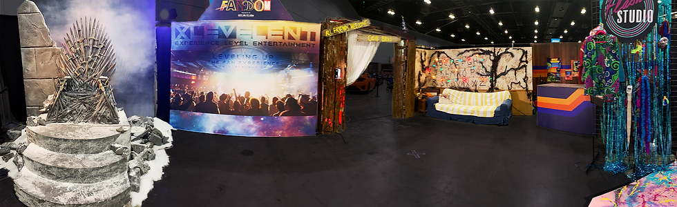 XLE Fandom Experience Photo Op Booth