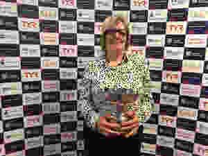 Heather McCalum - With John Gunning Award