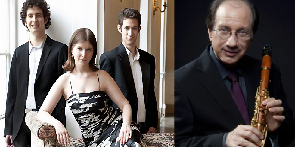 TRANSPLANTED: Lysander Piano Trio with Charles Neidich