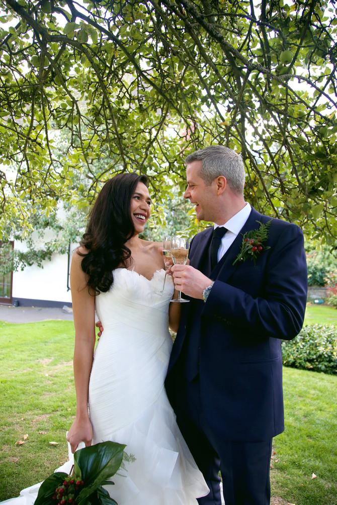 Jhei and Manuel's Wedding at Oaks Farm