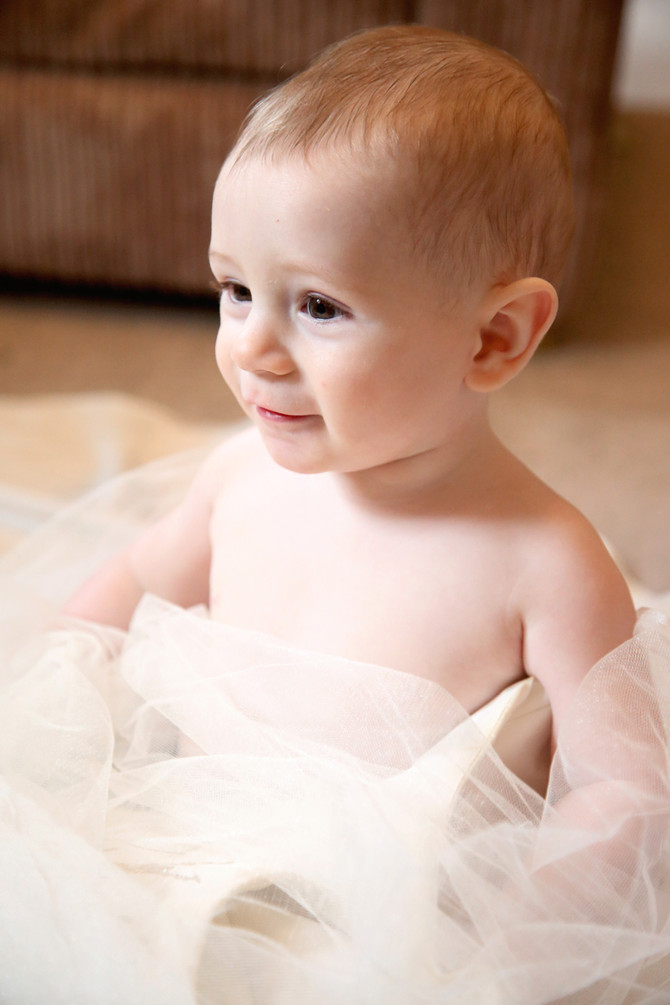 Baby Bridal Shoot No. 1 - Owen Gerrella