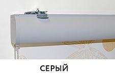 CLIC BOX Рулонные шторы Серый
