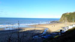 Tresaith beach close-by