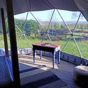 Soak up the views with a cuppa in bed