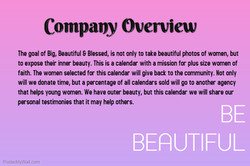 Copy of be beautiful poster