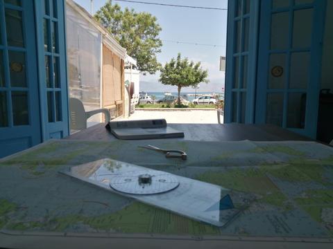 Corfu Powerboating classroom