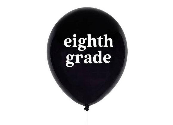 eighth grade balloon