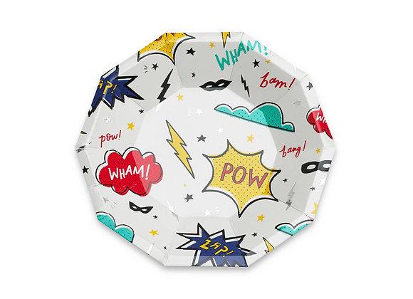superhero small plates