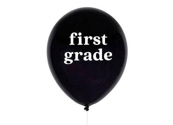 first grade balloon