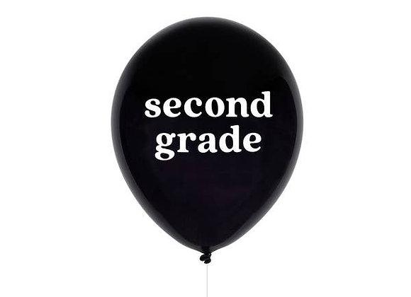 second grade balloon