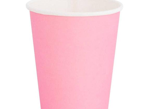 8 oz paper cup: rose