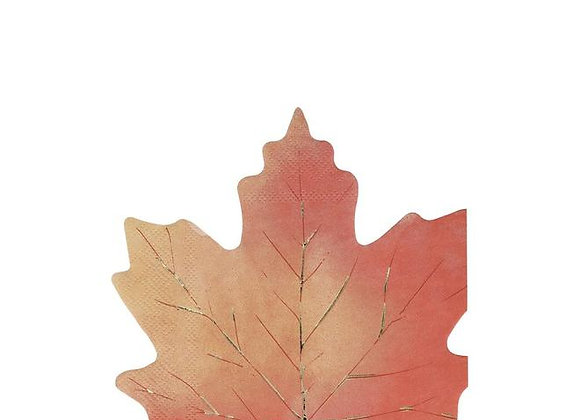 maple leaf napkins