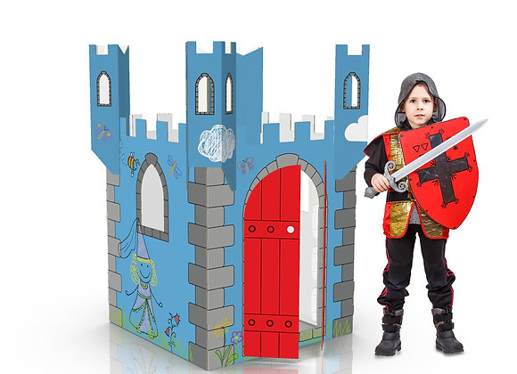color-in castle