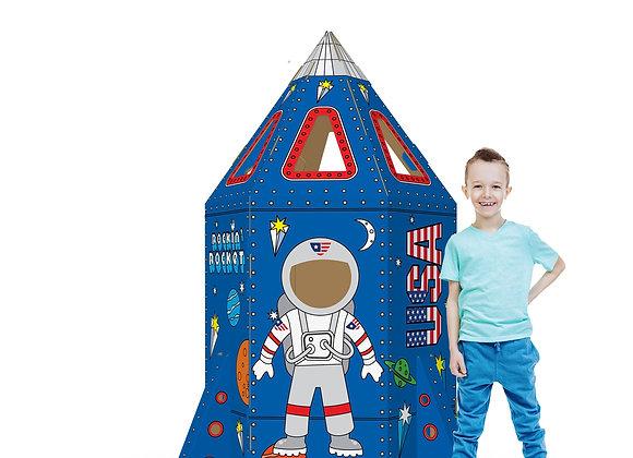 color-in rocket ship