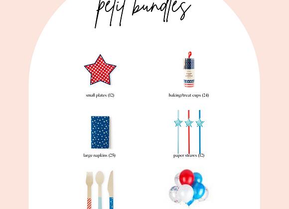 PETIT stars + stripes bundle