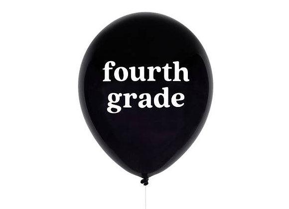 fourth grade balloon