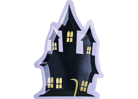 haunted house small plate