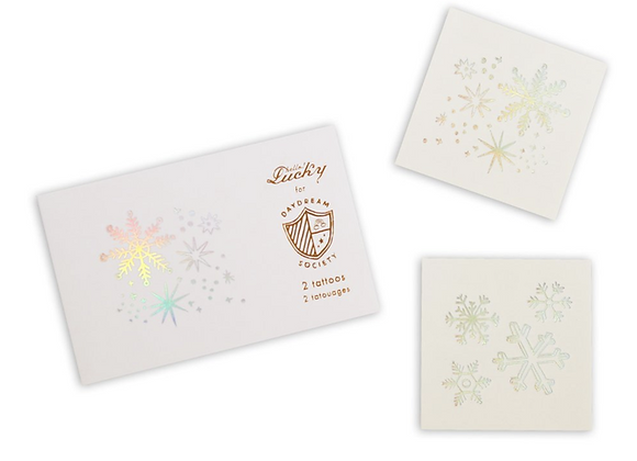 frosted temporary tattoos