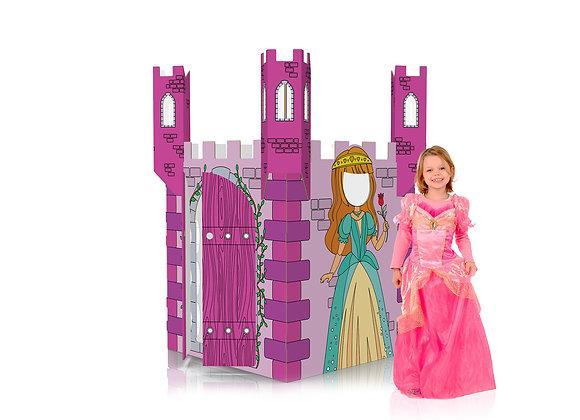 color-in princess castle