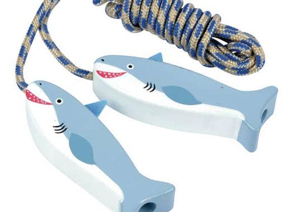jump rope - shark