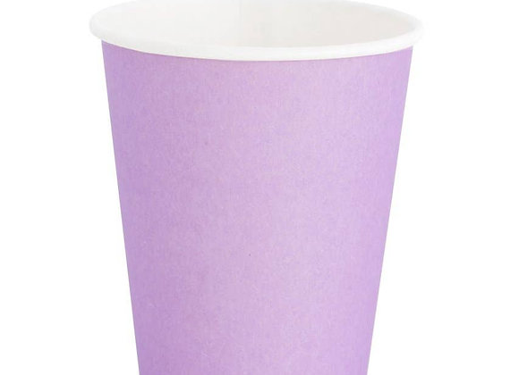 8 oz paper cup: lilac