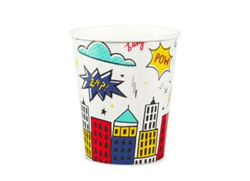 superhero 9 oz cup
