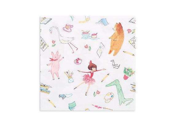lola dutch lola + friends large napkins