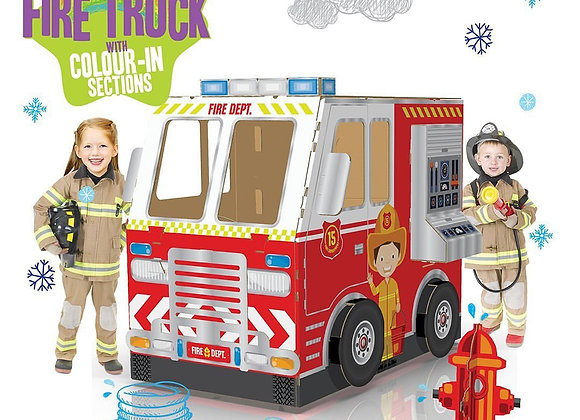 color-in firetruck