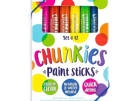ooly chunkies paint sticks - 12 pk