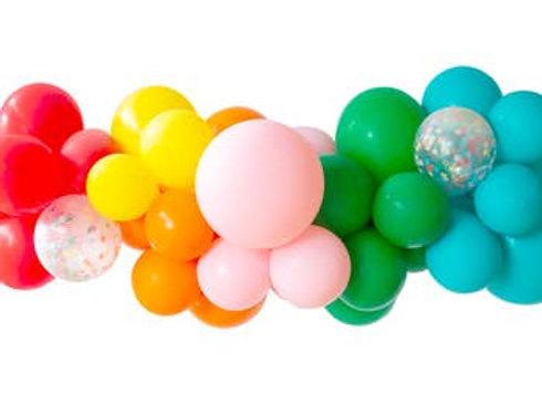 back to school balloon garland