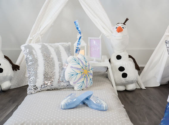 snowflake sleepovers for rents
