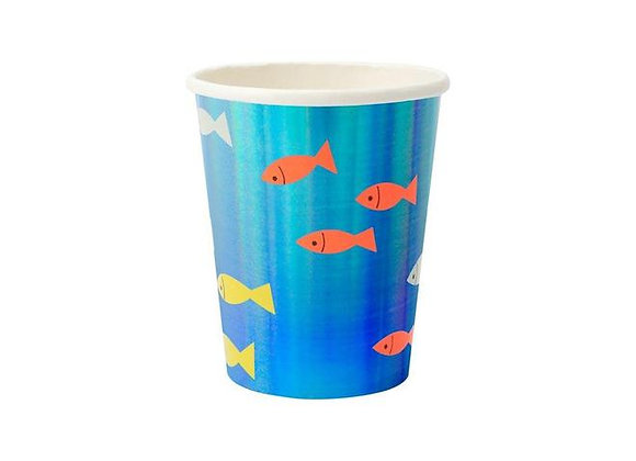 under the sea 9 oz cups