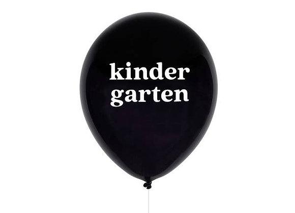 kindergarten balloon