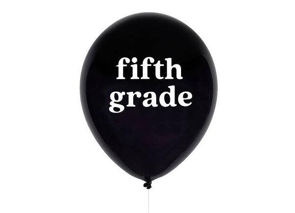 fifth grade balloon