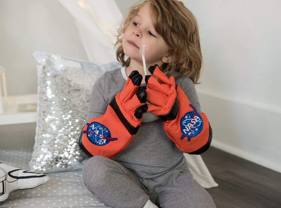 Outer Space Birthday Party costume
