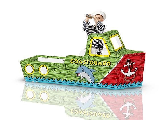 color-in coastguard boat