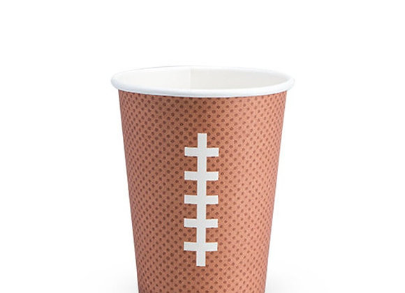 tailgate football paper cup