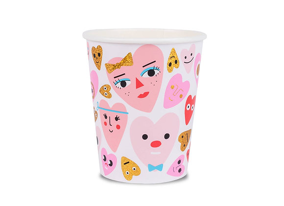 heartbeat gang 9 oz cup