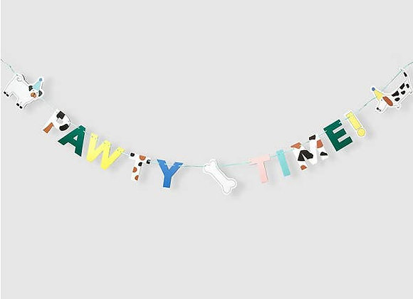 PAW-ty time banner