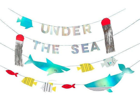 under the sea large garland