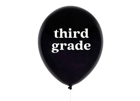third grade balloon