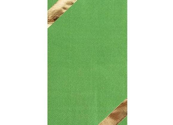large napkin - kale