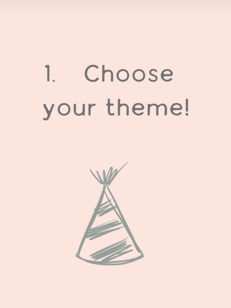 First, choose your theme!