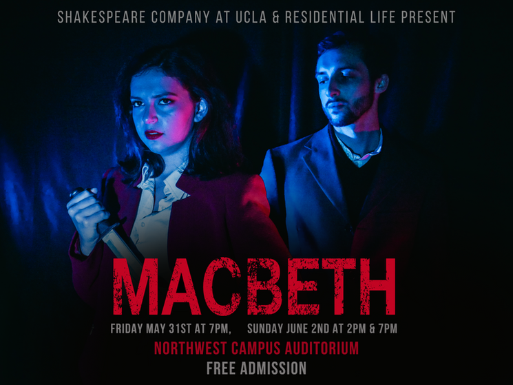 Macbeth and Lady Macbeth, Kaiulani Kennealy and Diego Hardy