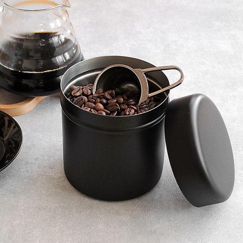 ロクサン ステンレスコーヒー缶