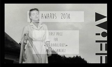 CertHugues Sanchez premier prix Festival art film canne