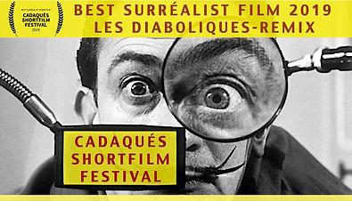 Hugues Sanchez Best surrealist film Cadaques Shortfilm Festival